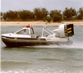 Hovercraft Mustang by Airlift Hovercraft