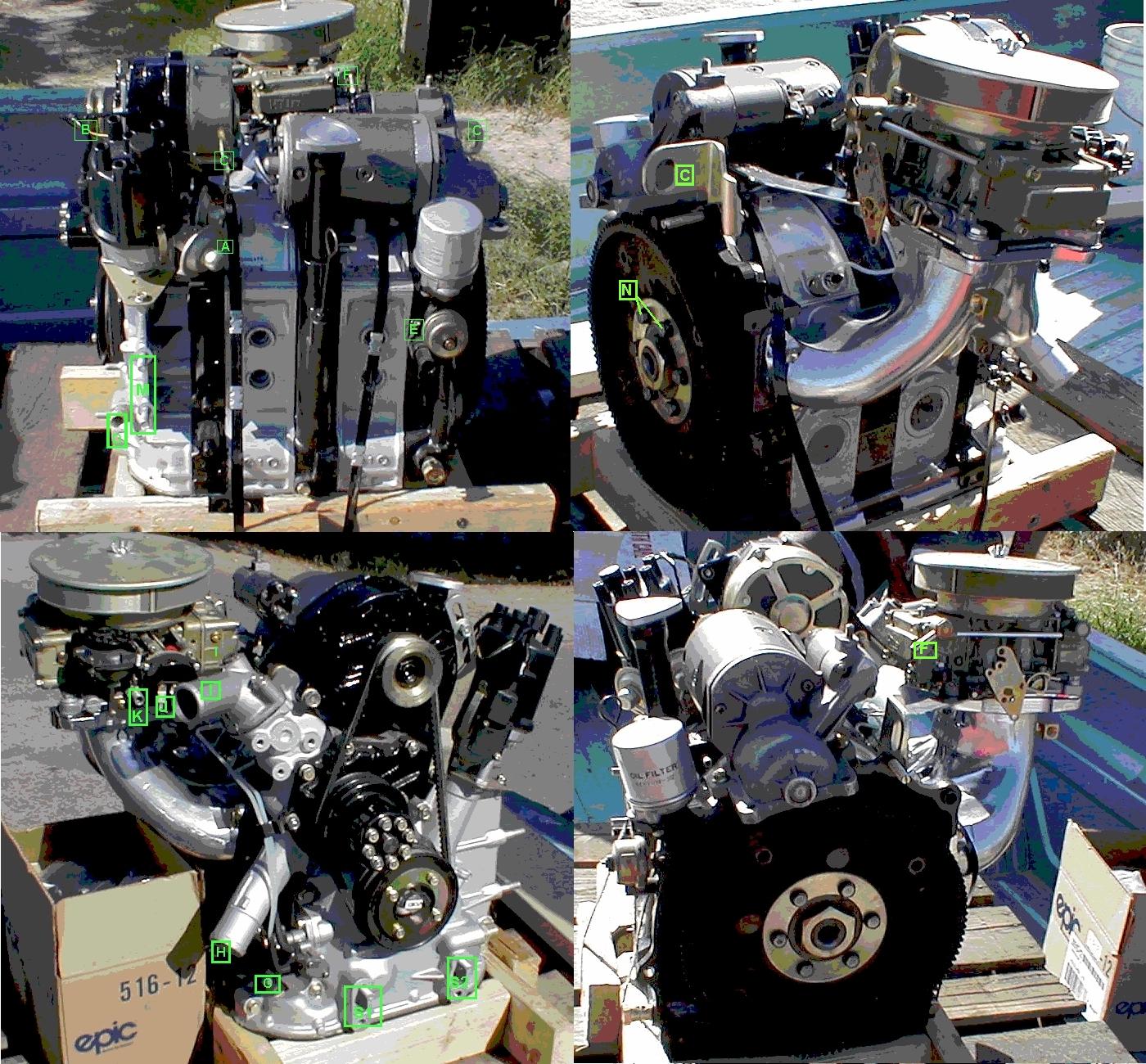 Mazda 13b Rotary Engine: 4wings.com (956) 943-5150