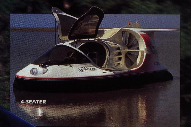 Air rider wildcat - 4 seater Hovercraft
