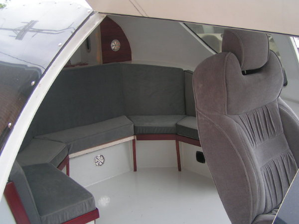 Alpha-II enclosed cabin of 7 Passenger craft during comnstruction