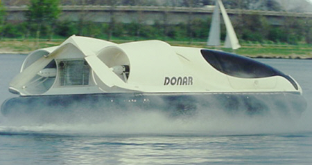 Aileron Elevator on Donar Hovercraft